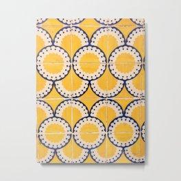 Portuguese Pattern Metal Print