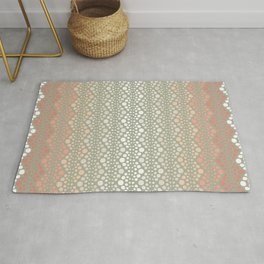 Retro Dotted Pattern 06 Rug