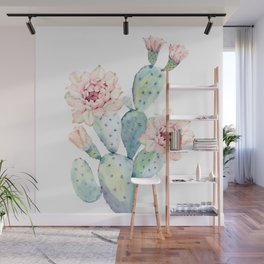 The Prettiest Cactus Wall Mural