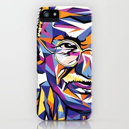 Legend of the fall – Ghandi iPhone Case