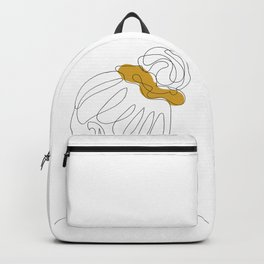 Scrunchie Girl Backpack