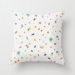 Feeling fruity Throw Pillow