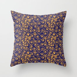 Spiral Pattern Throw Pillow