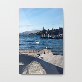View of Lake Windermere - The Lake District, Cumbria Metal Print