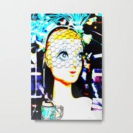 Glamour Girl Metal Print