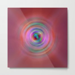 Rings of Infinity 1 Metal Print