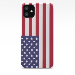 Flag of USA, 10:19 scale prints iPhone Case