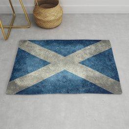 Scottish Flag - Vintage Retro Style Rug