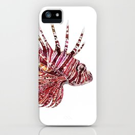 Ocean Dream - Lion Fish iPhone Case