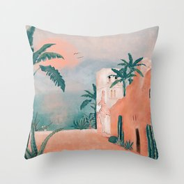 OLD CITY Throw Pillow
