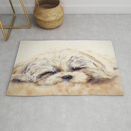 Sleepy Puppy Rug