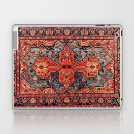 Kashan Poshti Central Persian Rug Print Laptop & iPad Skin