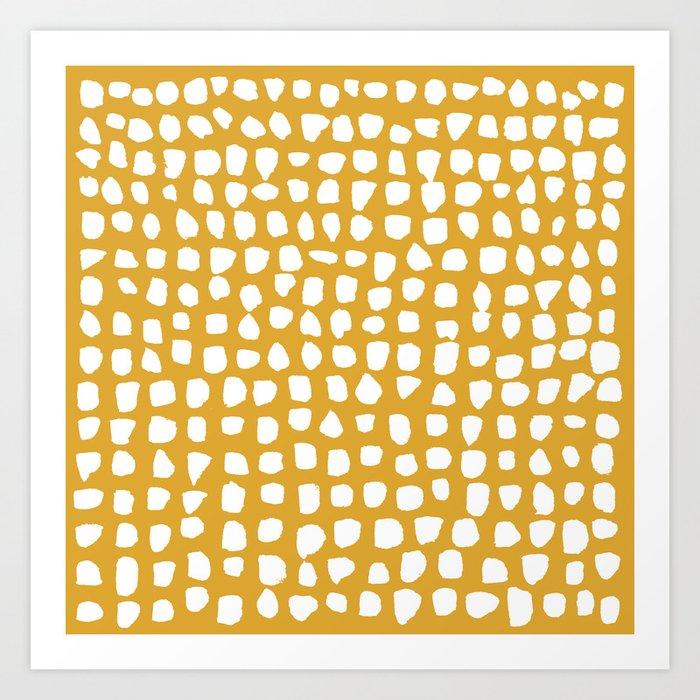 Dots / Mustard Kunstdrucke
