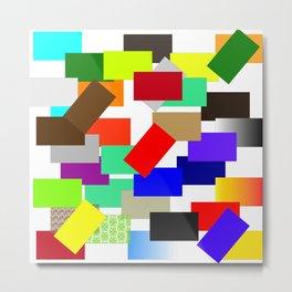 einfach farbig   (A7 B0054) Metal Print