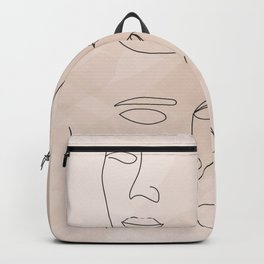 Women's Faces Backpack