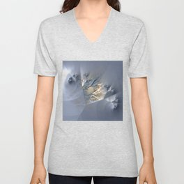 Branches - combined natural and artificial Unisex V-Neck