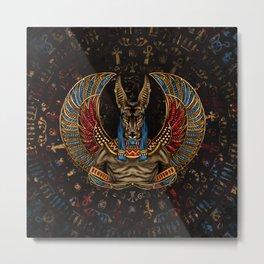 Anubis - Egyptian God Metal Print