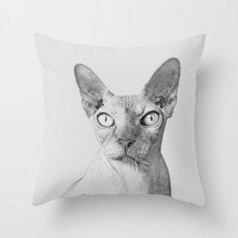 Shynx Cat Throw Pillow