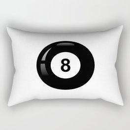8 ball #society6 Rectangular Pillow