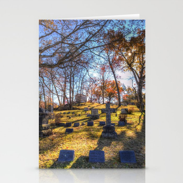 Sleepy Hollow Cemetery New York Stationery Cards