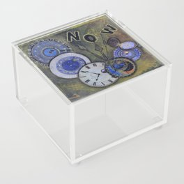 The Time is Always Now (or 11:11) Acrylic Box
