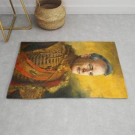 Bill Murray, Comedian, Classical Painting Portrait, Regal art, General, Actor Rug