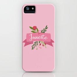 Janeite II iPhone Case