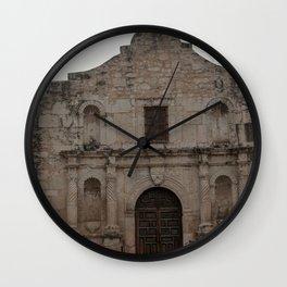 Remember the Alamo Wall Clock