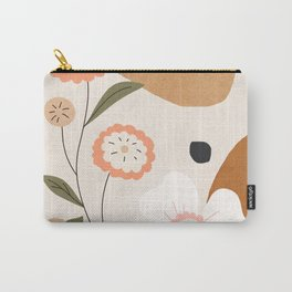 Colorful Flower Design 3 Carry-All Pouch