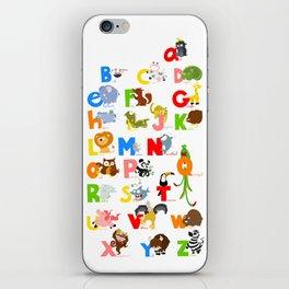ABC (english) iPhone Skin