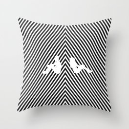 seperation Throw Pillow