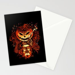 Halloween Pumpkin King (Lord O' Lanterns) Stationery Cards