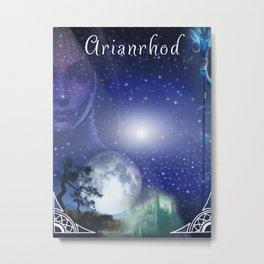 Spiritual Art - Arianrhod -  Metal Print