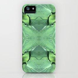 Abstract Hosta Design 760 iPhone Case