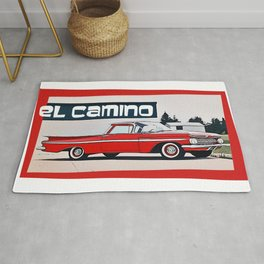 (The Back is Where You) EL CAMINO Rug