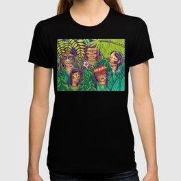 jungle eyes 5 T-shirt
