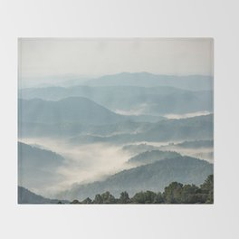 Blue Ridge Parkway - Shenandoah National Park Throw Blanket