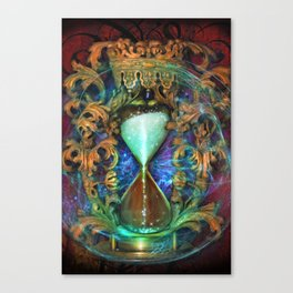 Hourglass Canvas Print
