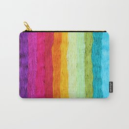 Rainbow Yarn Carry-All Pouch
