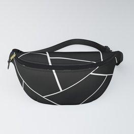 Black White Geometric Glam #2 #geo #decor #art #society6 Fanny Pack