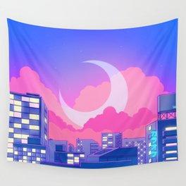 Dreamy Moon Nights Wandbehang