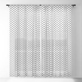 Monarch Butterfly   Vintage Butterfly   Black and White   Sheer Curtain