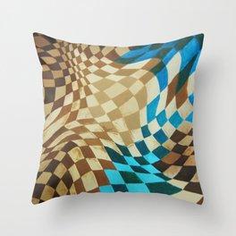 Super Space Warp Throw Pillow