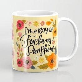 Pretty Swe*ry: I'm a Ray of Fucking Sunshine Kaffeebecher