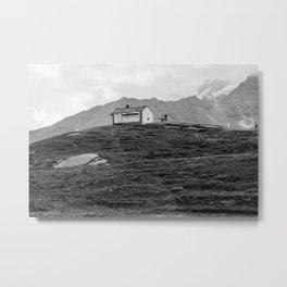 Chapel near Lake Serru Metal Print