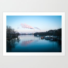 Treptower Park - Berlin Art Print