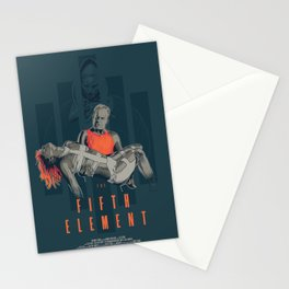 The fifth element Stationery Cards