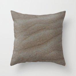 Soft Sand Throw Pillow