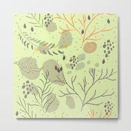 Algae Metal Print