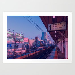 5 AM in Tokyo Kunstdrucke